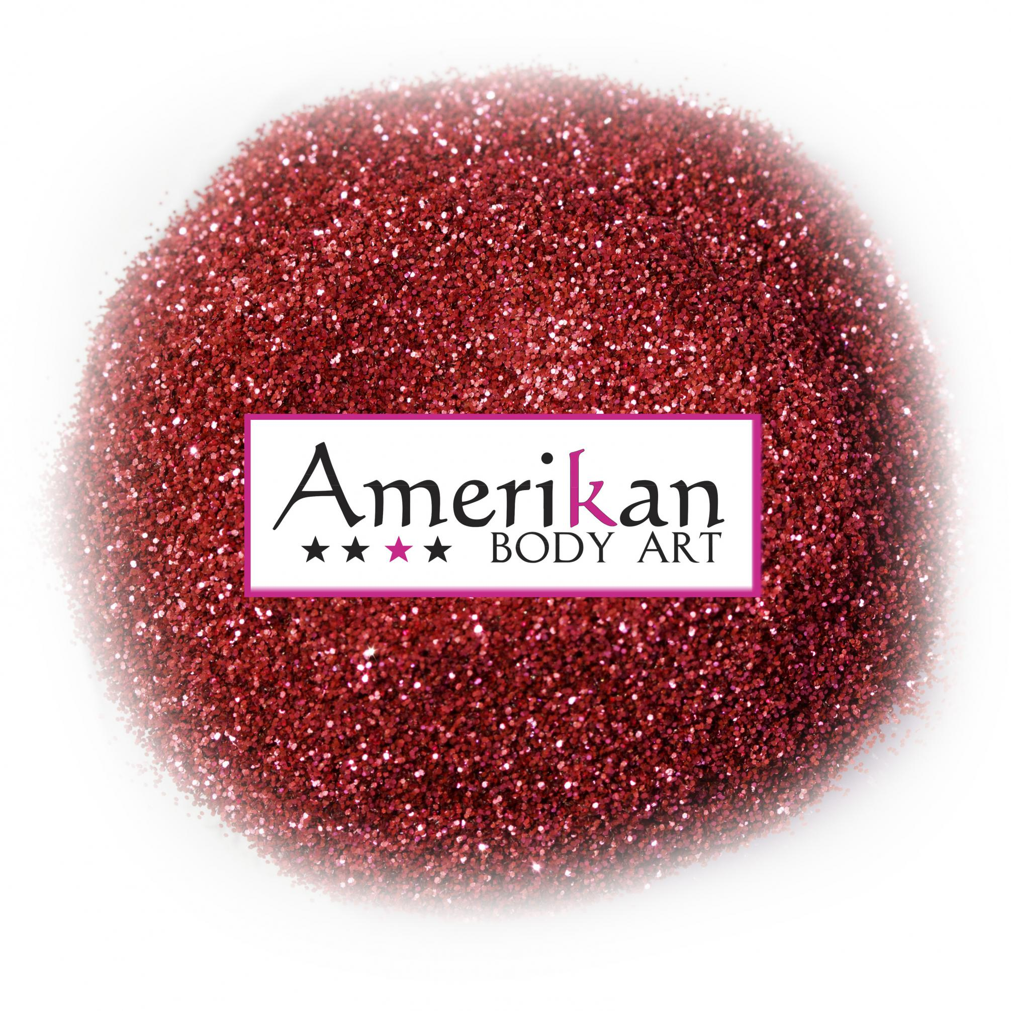 Ruby Red Biodegradable Glitter (.008
