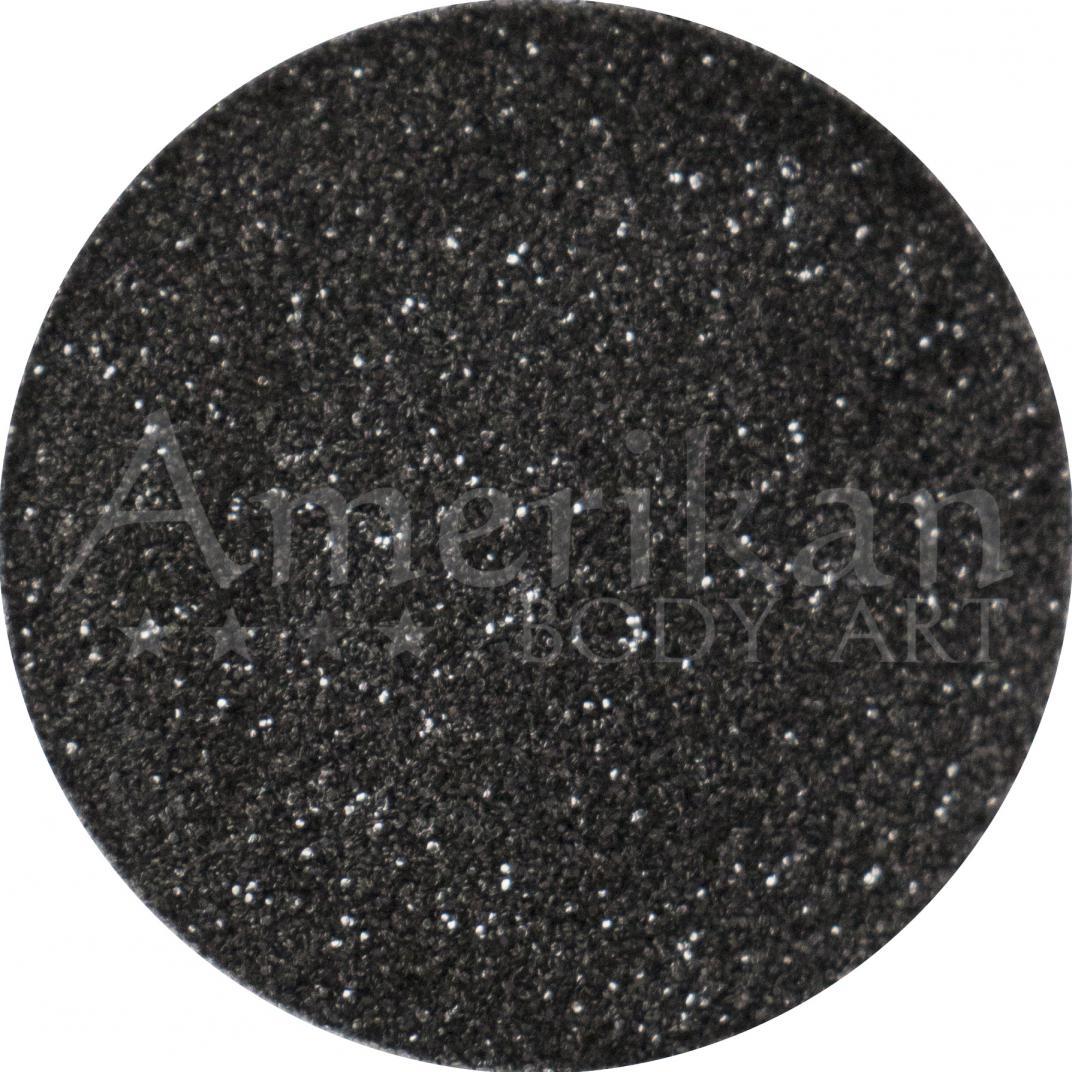 Black Ocean-Safe Biodegradable Glitter (0.008