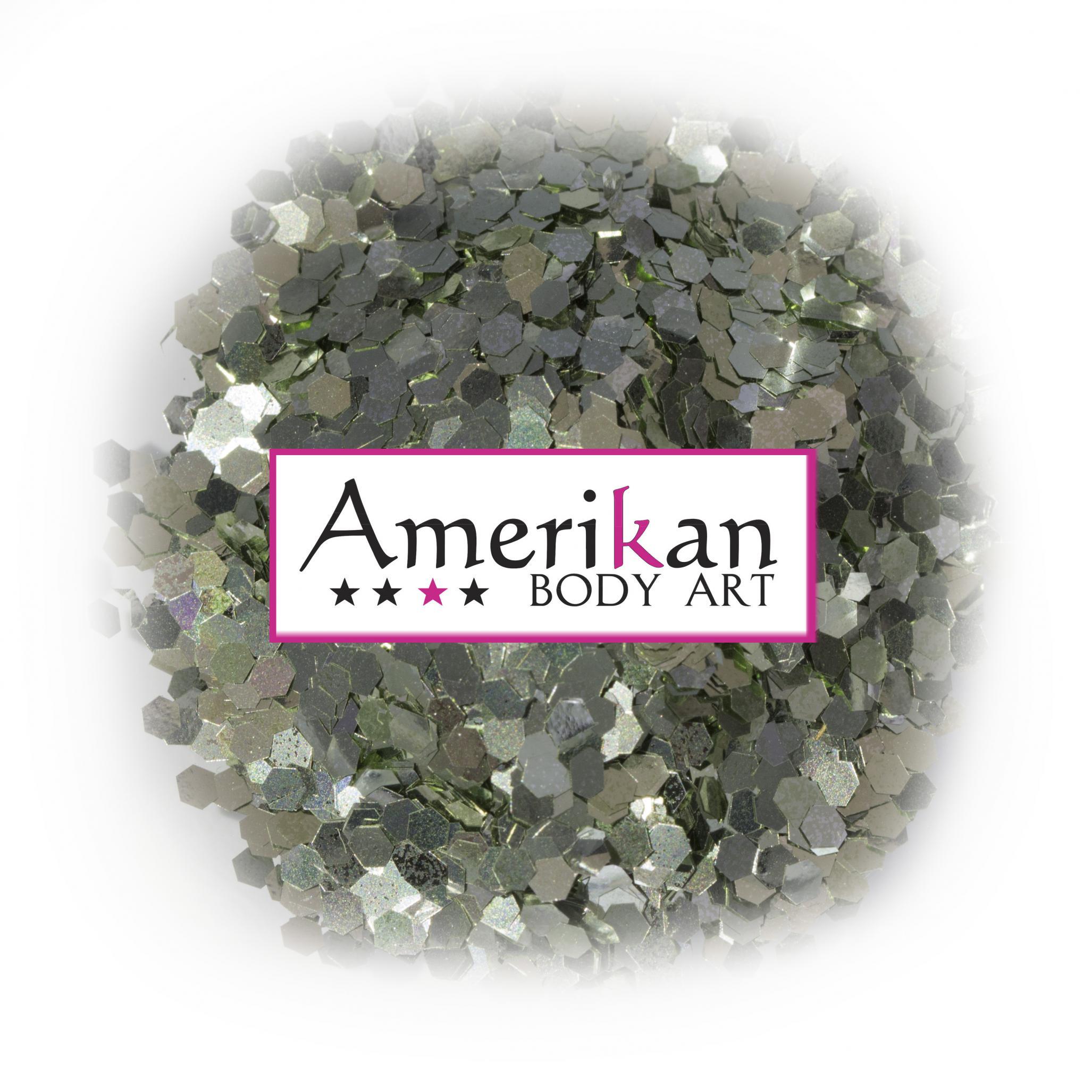 Jade Green Plant-Based Compostable Glitter (.062