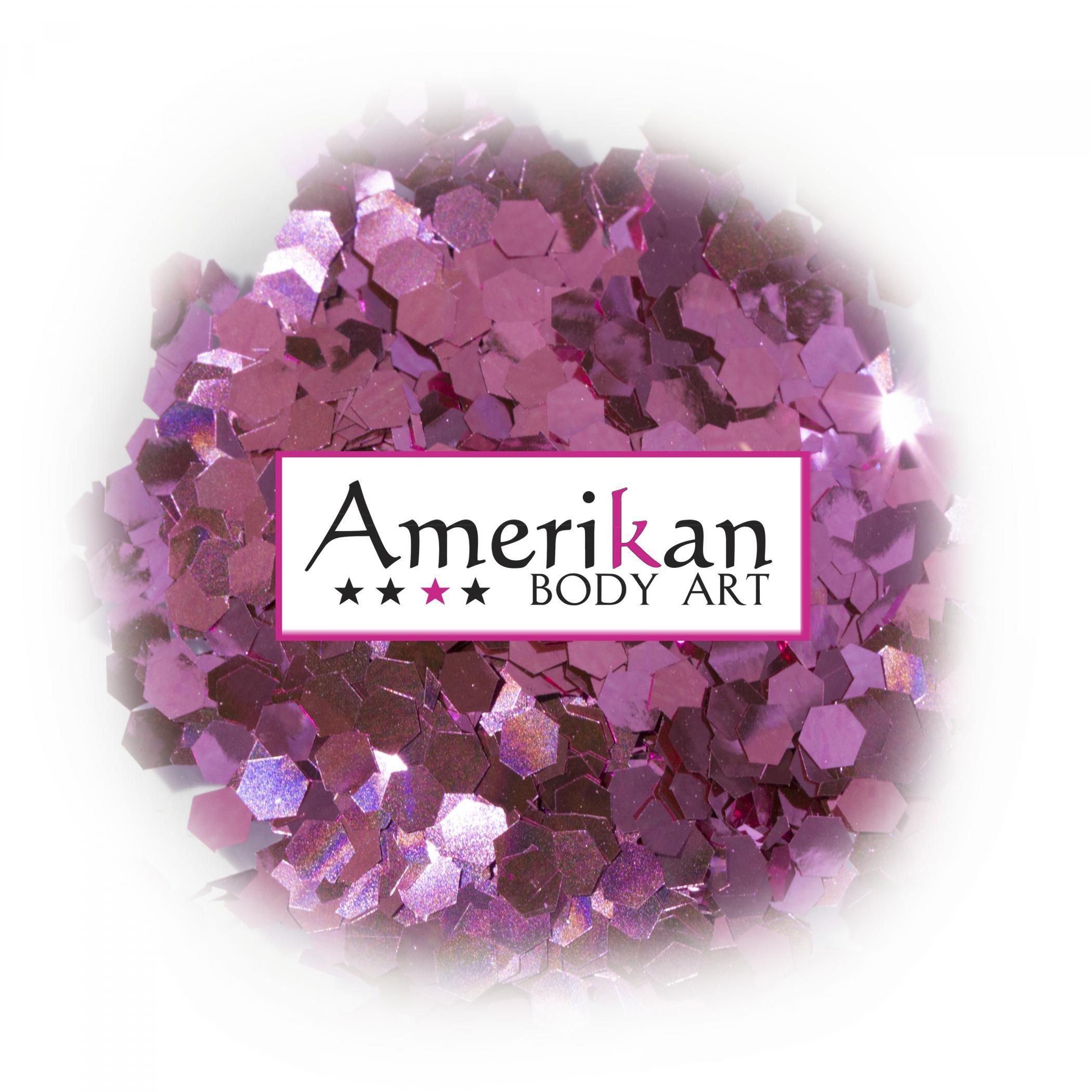 Pink Sapphire Biodegradable Glitter (.094