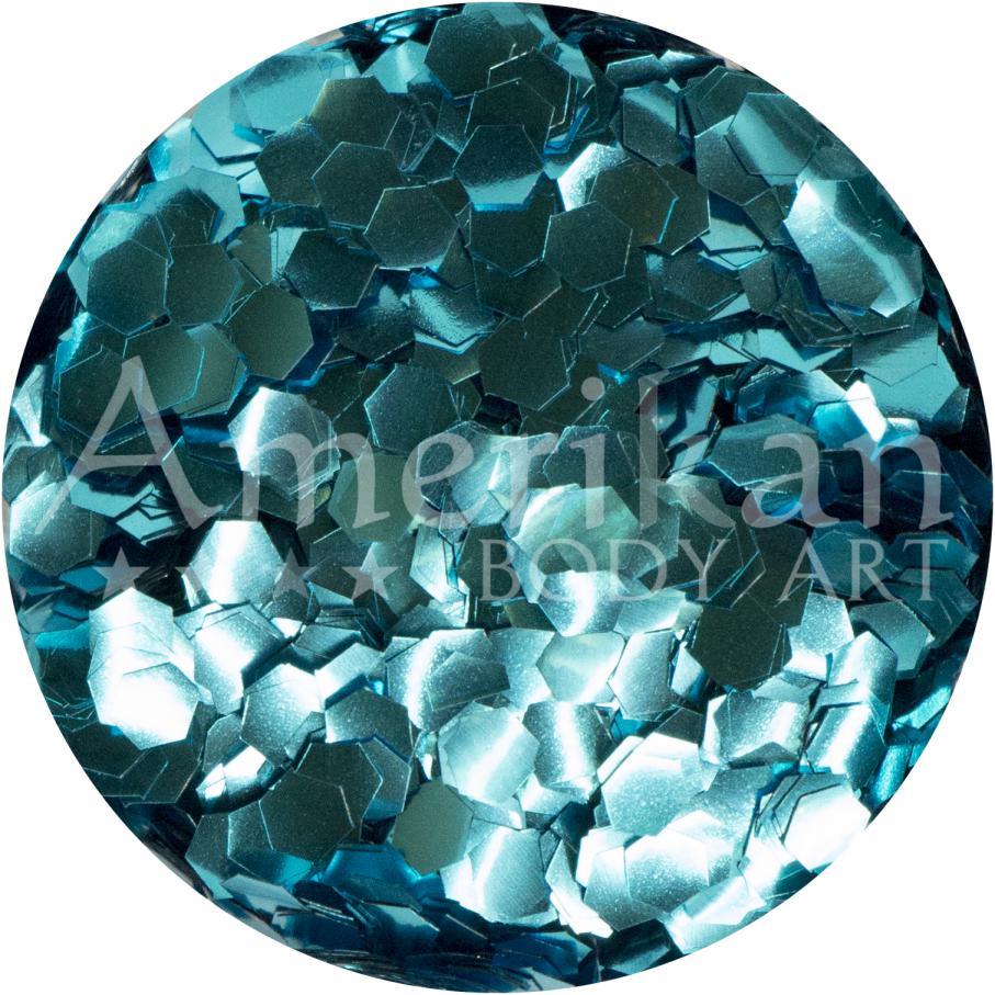 Sky Blue Ocean-Safe Biodegradable Glitter (0.094