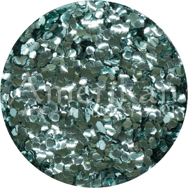 Turquoise Ocean-Safe Biodegradable Glitter (.040