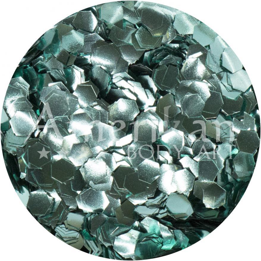 Turquoise Ocean-Safe Biodegradable Glitter (0.094