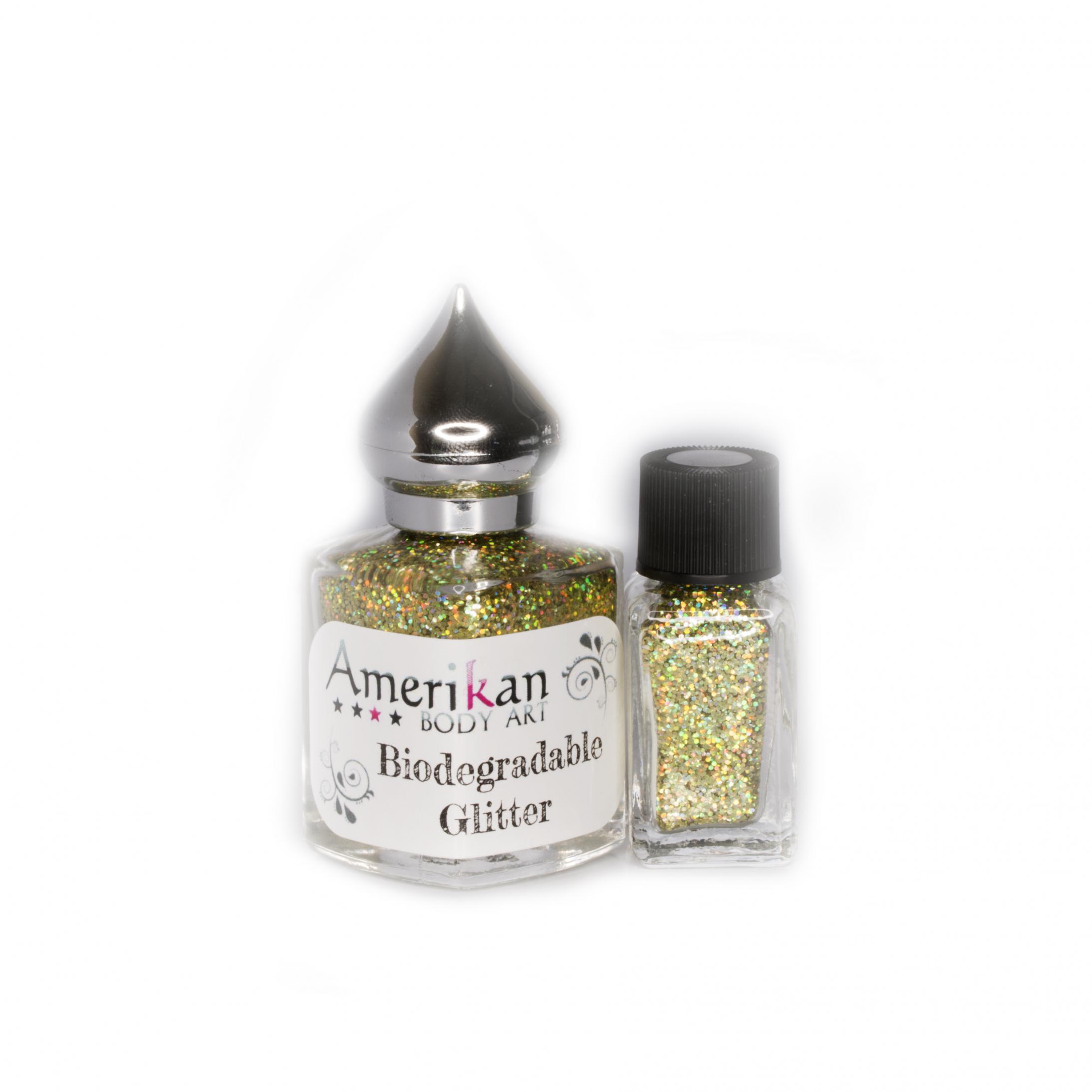 Zodiac Gold Biodegradable Glitter (.015