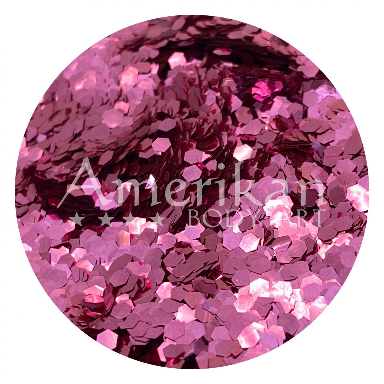 Pink Sapphire Plant-Based Compostable Glitter (.094