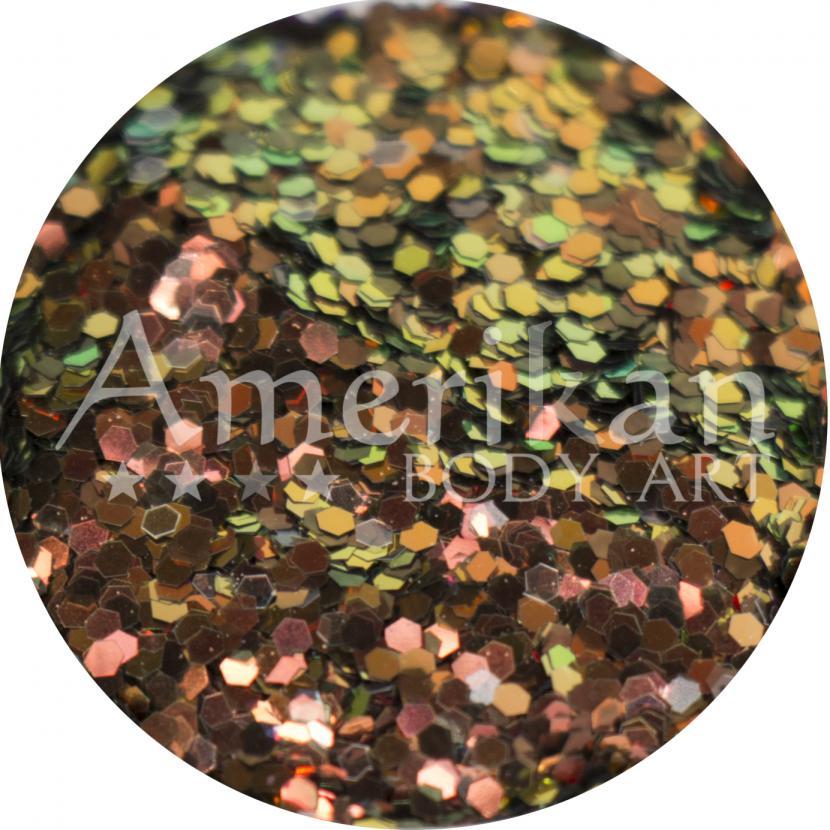 Bronze DuoChrome Chunky Glitter (0.040