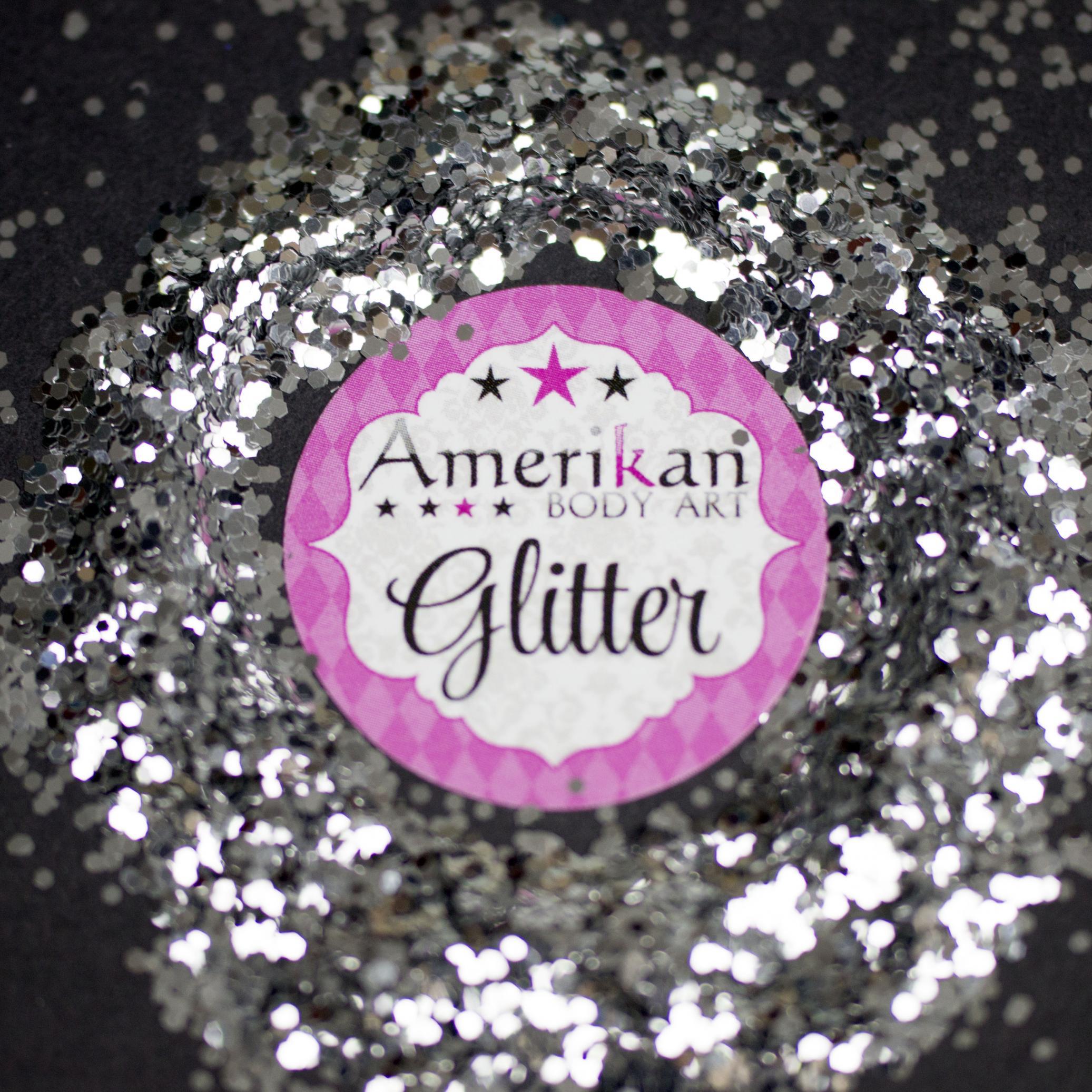 Chrome Silver Chunky Glitter (0.040