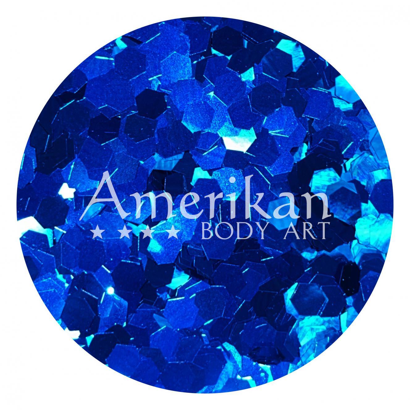 Midnight Blue Chunky Glitter (.094 hex)