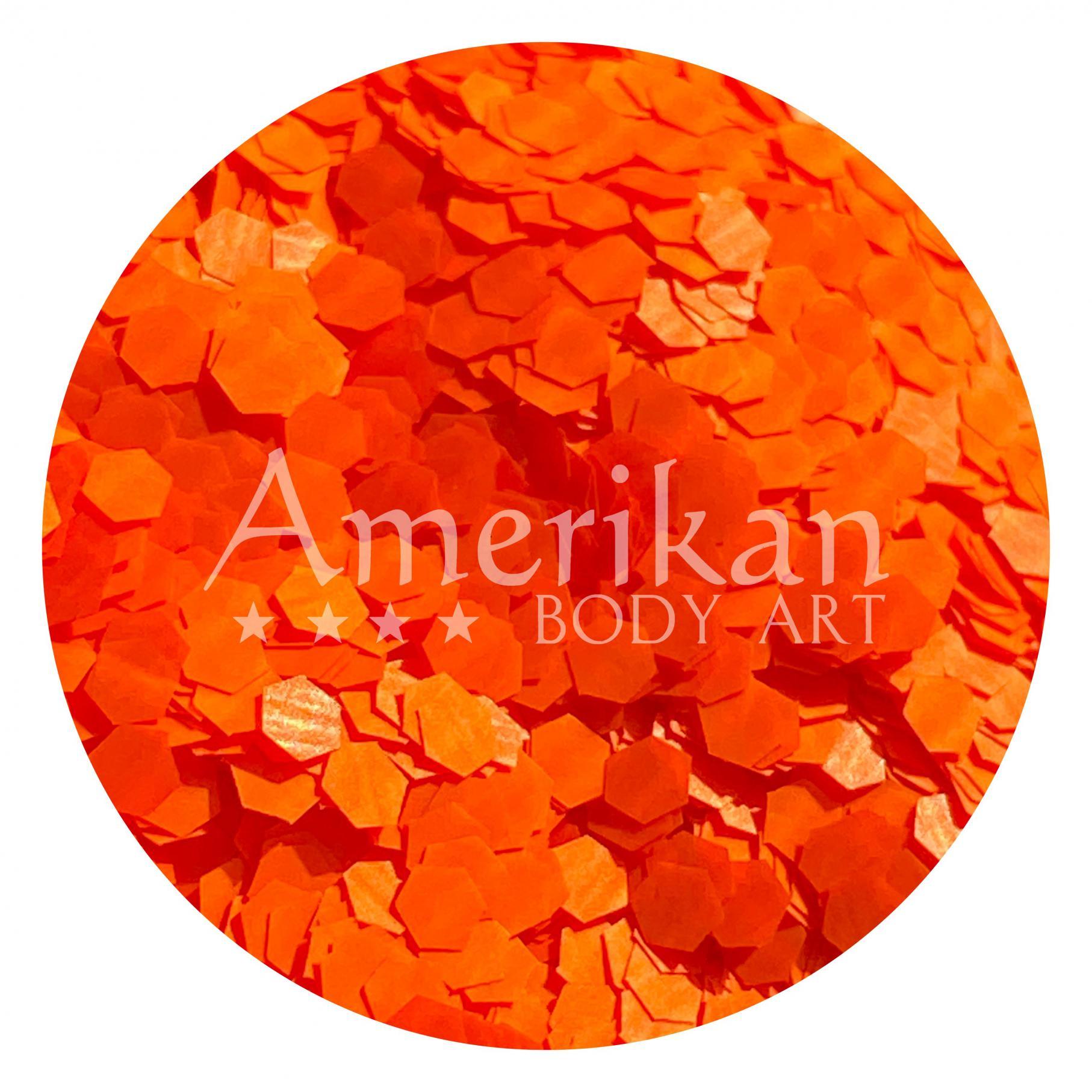 UV Orange Chunky Glitter (0.094