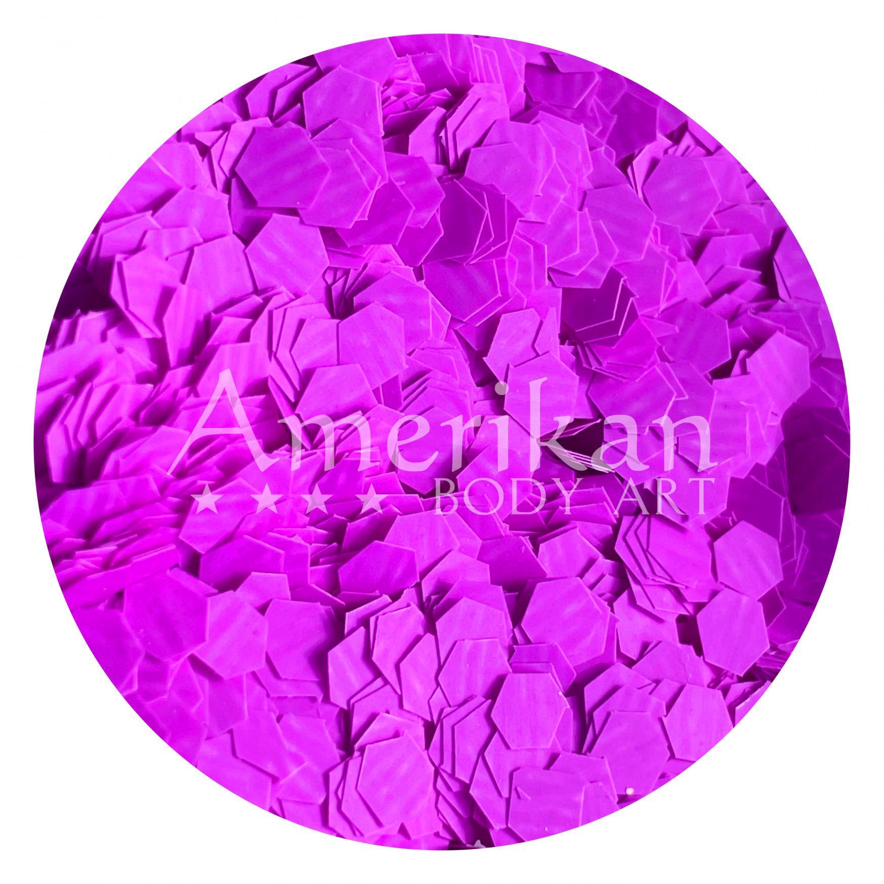 UV Purple Chunky Glitter Flakes (0.125