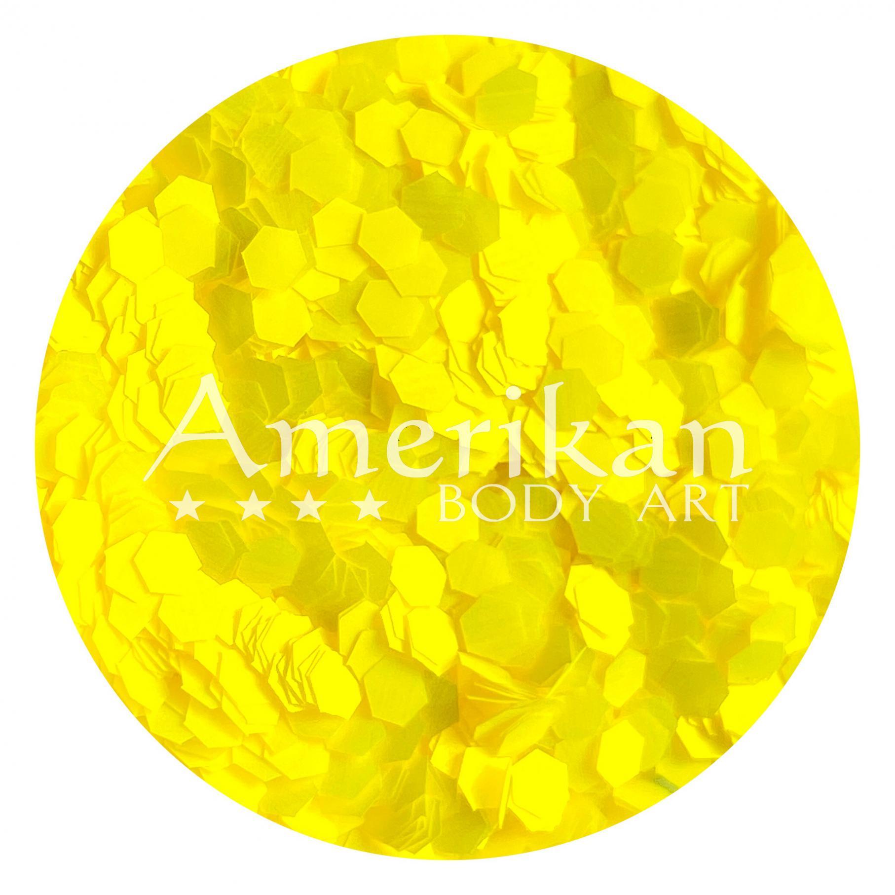 UV Yellow Chunky Glitter (0.094