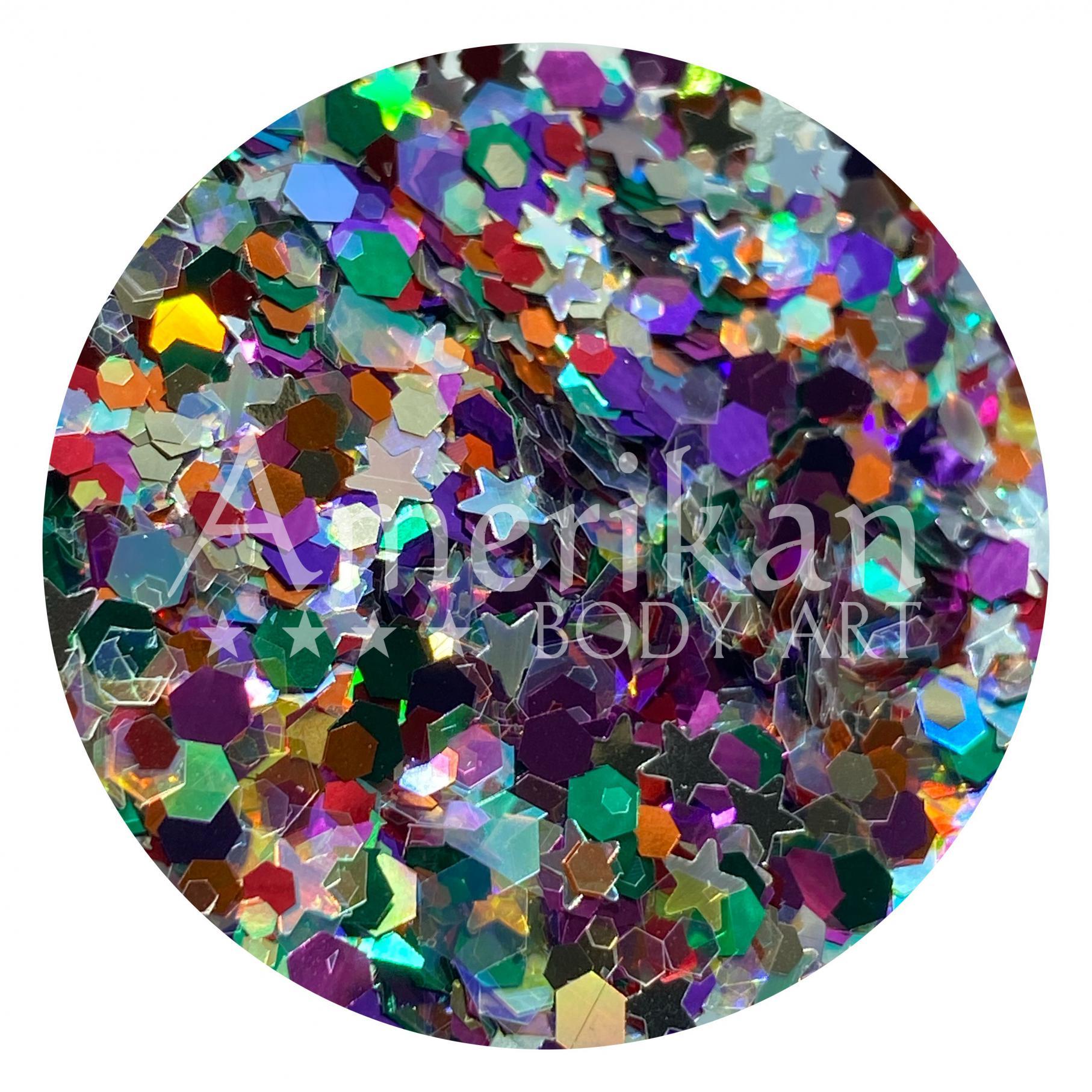 Over The Rainbow Glitter Blend