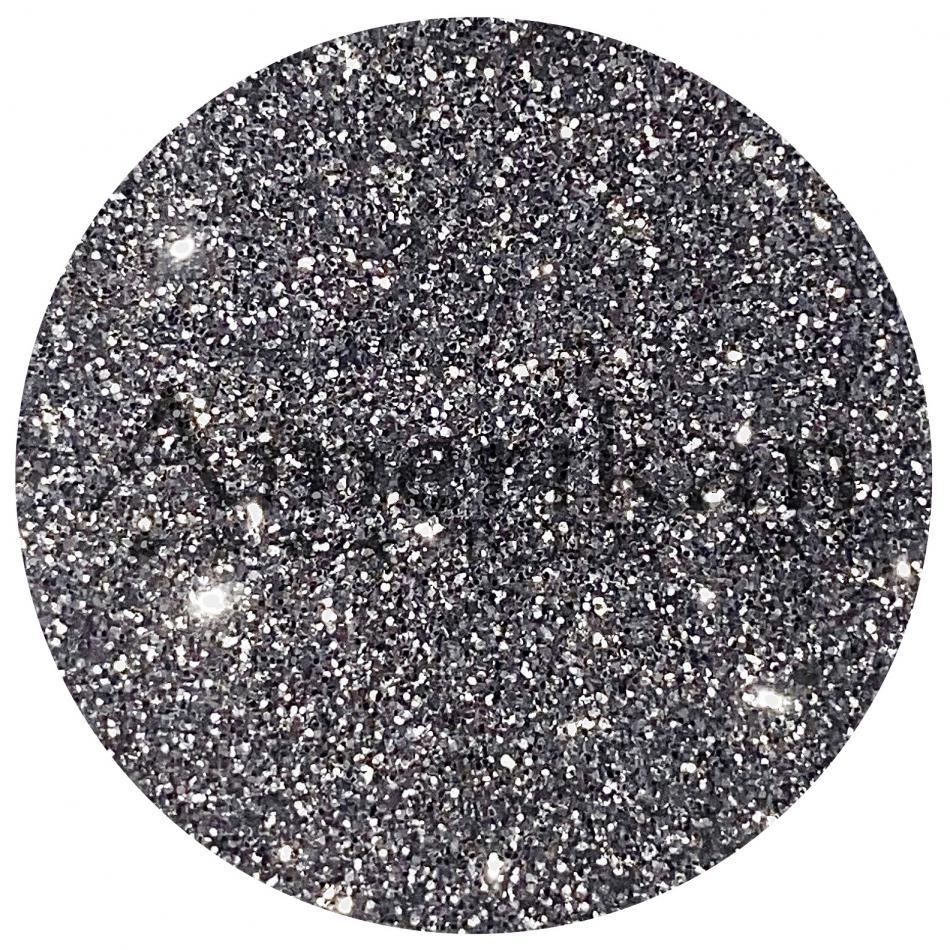 Chrome Silver Glitter