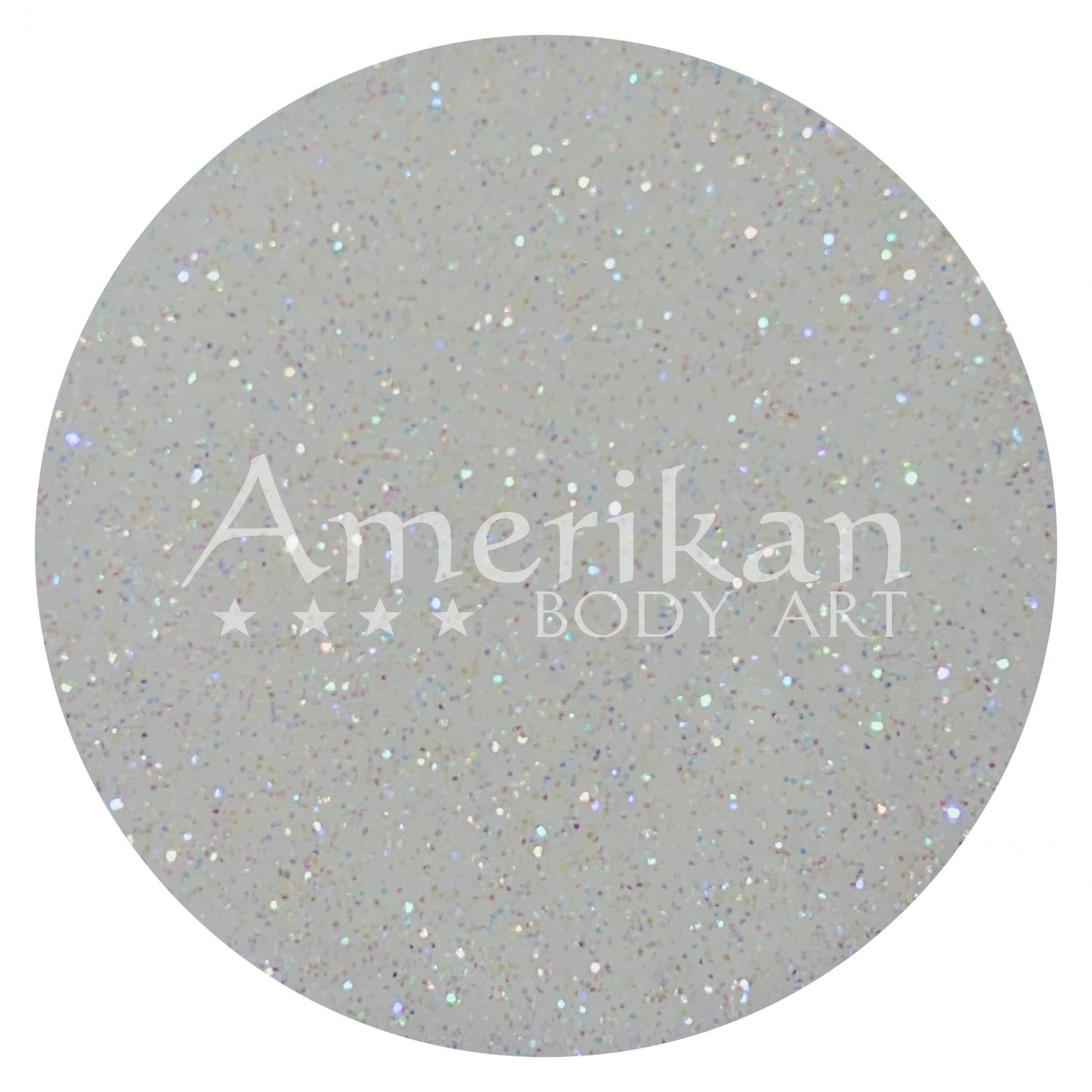 Holographic White Glitter