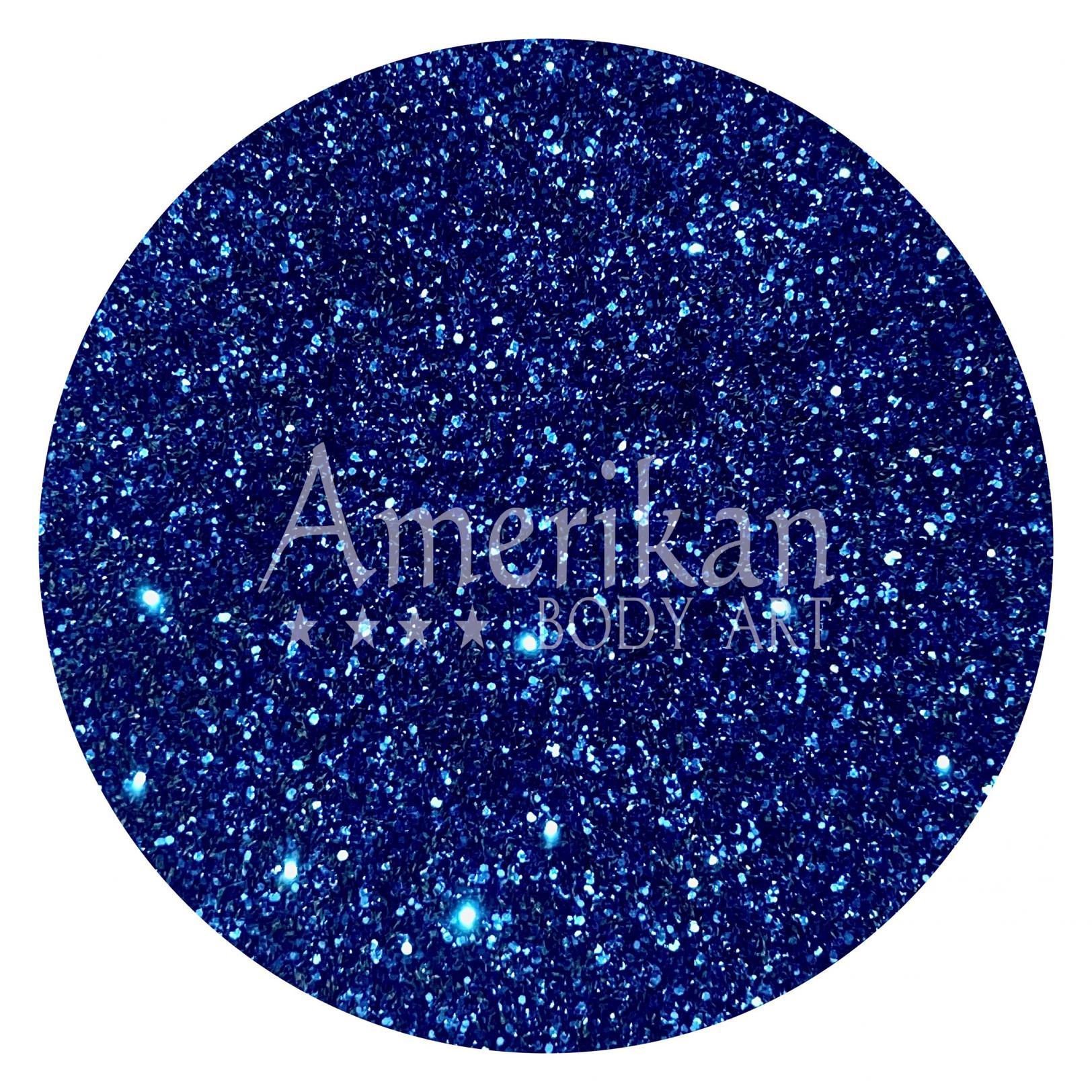 Midnight Blue Glitter
