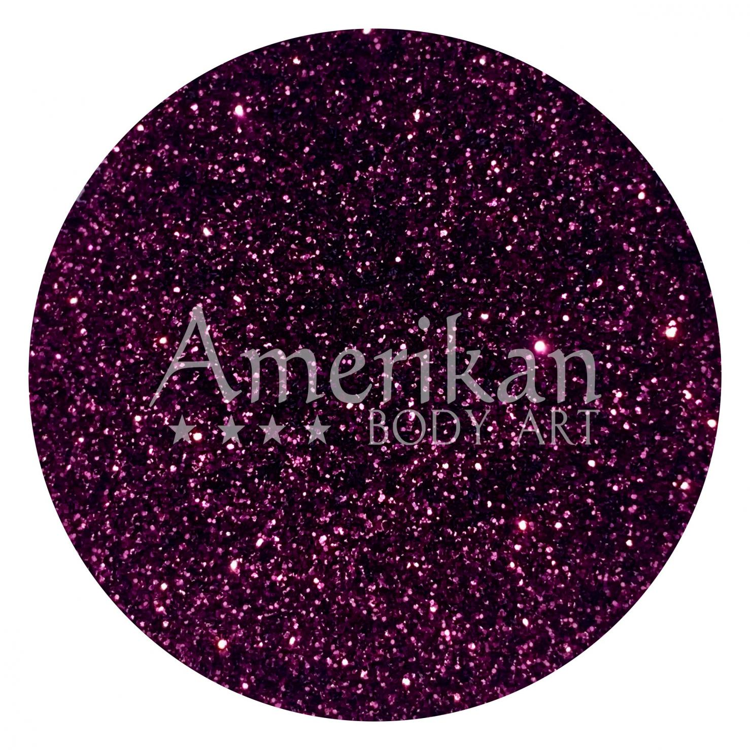 Plum Purple Glitter
