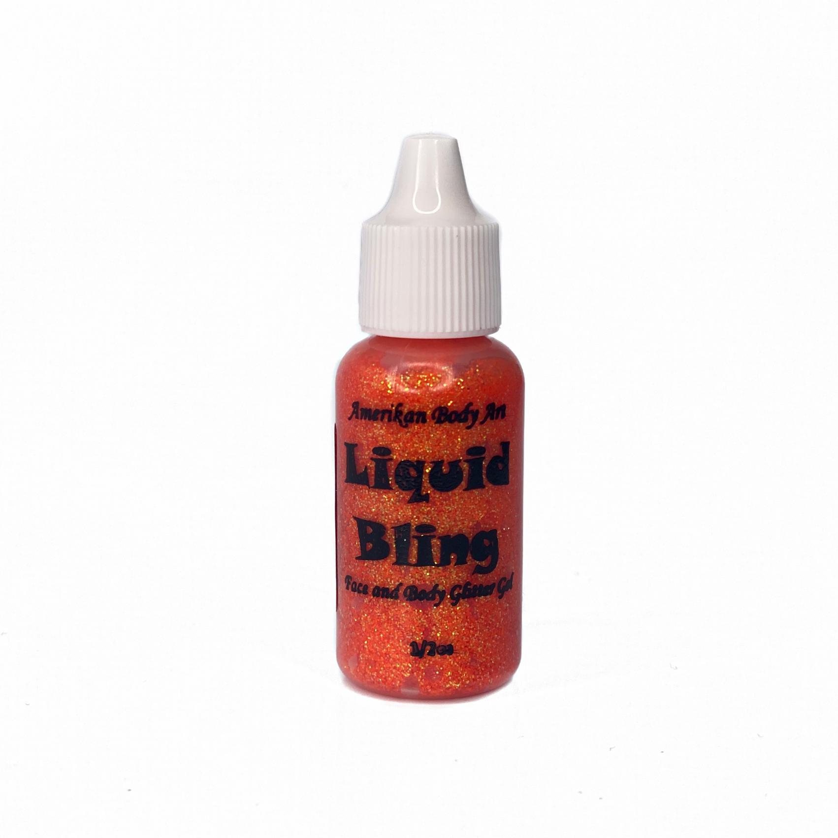Electric Orange Liquid Bling