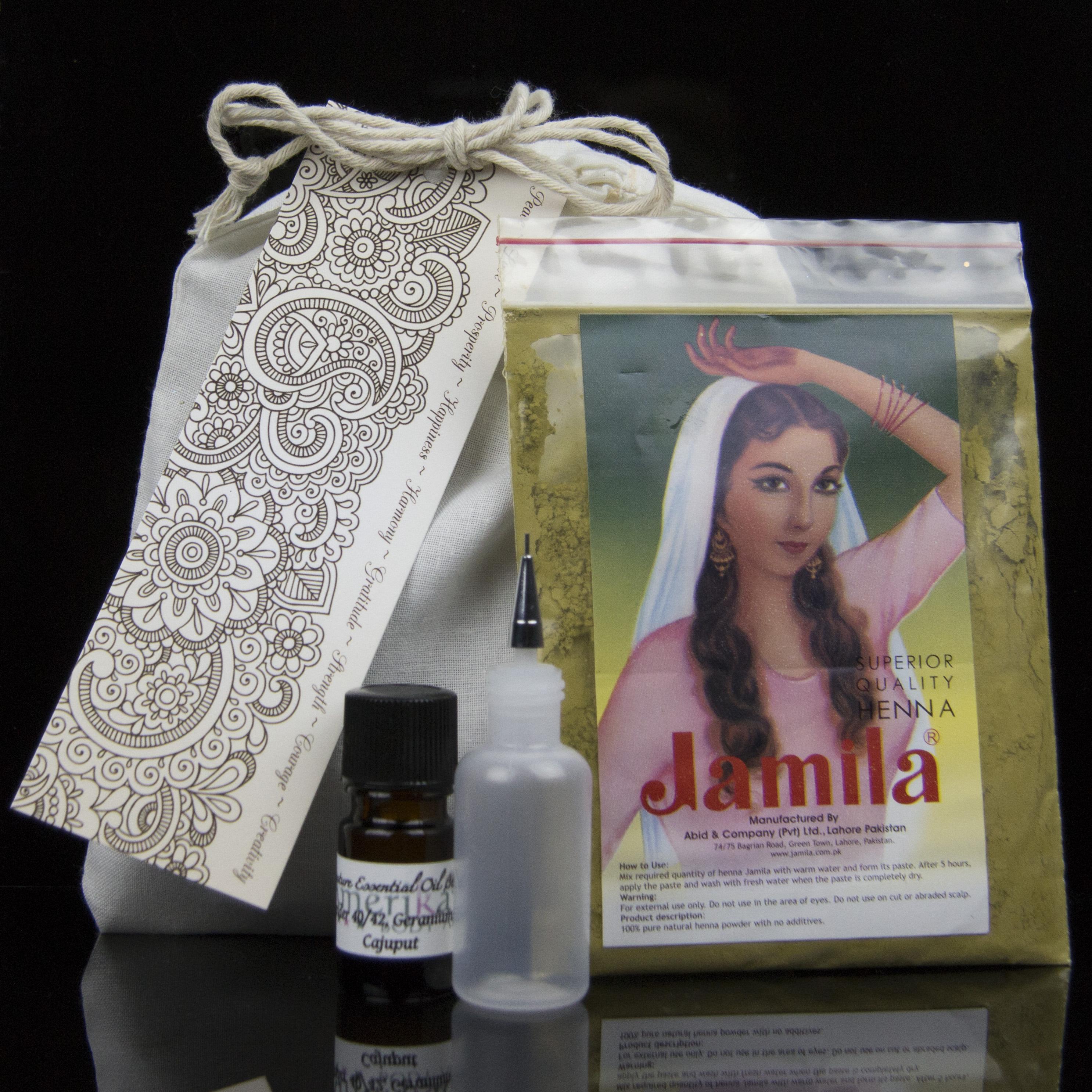 henna body art kit