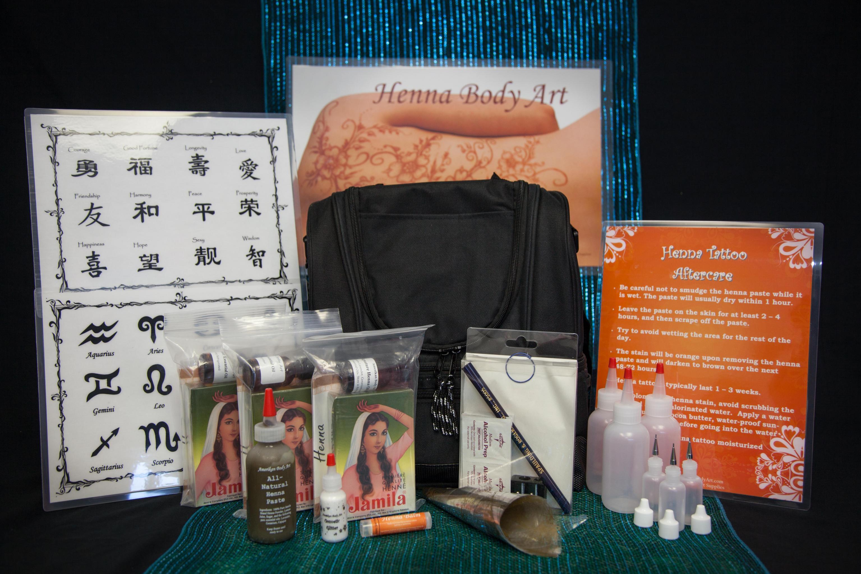 Henna Body Art Kits