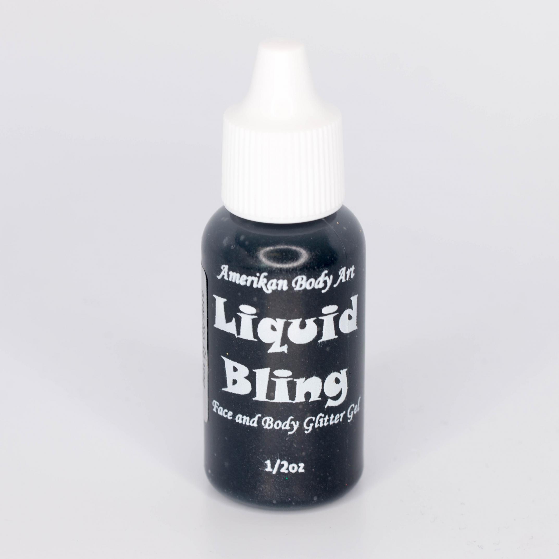 Jet Black 1/2 oz Liquid Bling