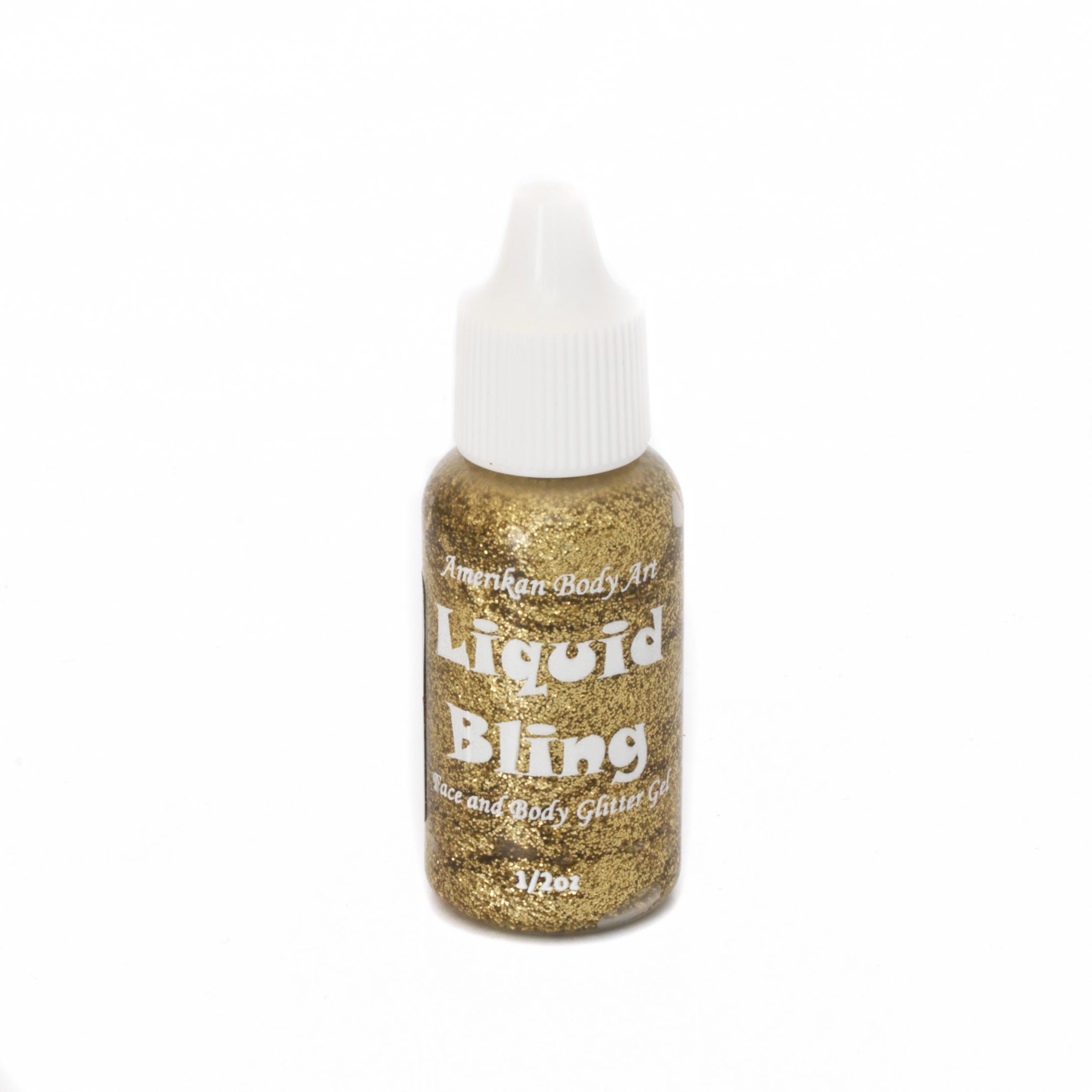 Brilliant Gold Liquid Bling