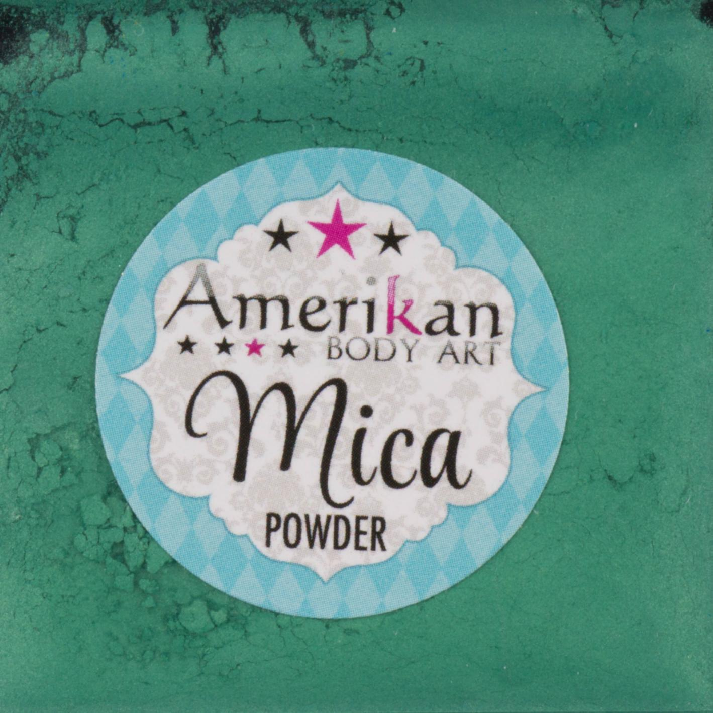 Primary Green Mica Powder
