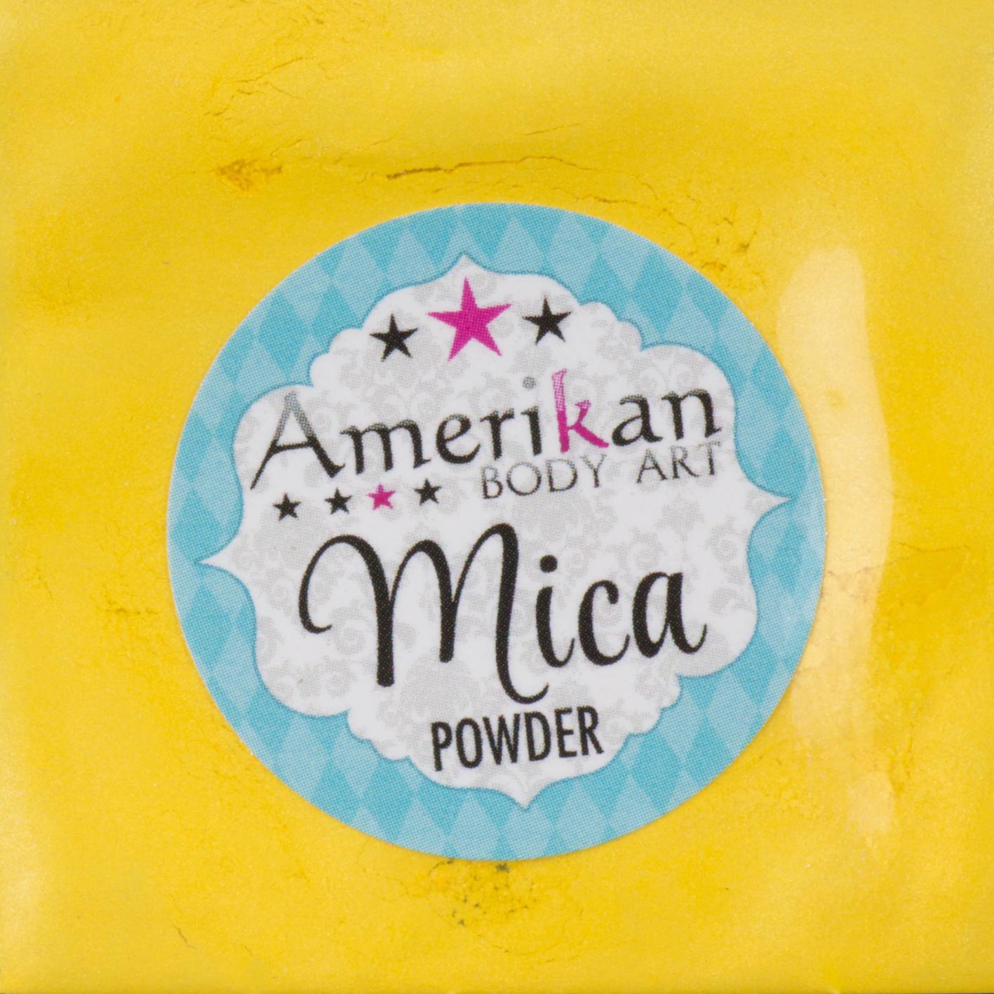 Sunflower Yellow Mica Powder
