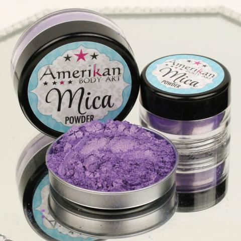 Duochrome Red-Violet Mica Powder (discontinued by manufacturer - almost gone)