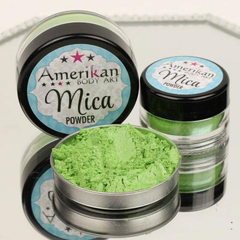 Green Apple Mica Powder
